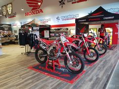 MX-Academy Motocross and Enduro Shop Motocross Shop, Honda, Bicycle, Motorcycle, Shopping, Bike, Bicycle Kick, Bicycles, Motorcycles