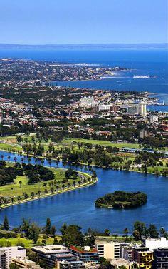 Albert Park Lake, Melbourne, Victoria