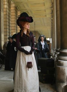 Romola Garai as Barbara Spooner in Amazing Grace (2006). - 1790s style