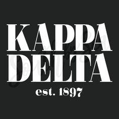 Gamma Sigma Sigma, Kappa Delta Sorority, Sorority And Fraternity, Sorority Shirts, Kappa Delta Crafts, Custom Greek Apparel, Phi Mu, Greek Clothing, Greek Life