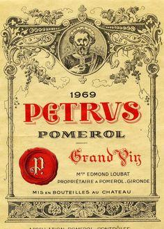 Bordeaux Wine Labels Poster
