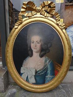 Portrait d'une femme, vers 1780 école française
