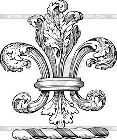 Wrights Naturally Chic Iron-On Transfers Fleur De LisWrights Naturally Chic Iron-On Transfers Fleur De Lis, Baroque Frame, Tattoo Fleur, Ornament Drawing, Pattern And Decoration, Tattoo Project, Filigree Design, Wow Art, Angel Art, Shape Design