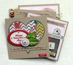 like the heart on this card