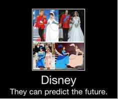 They can. Will and Kate, Ugly Stepsisters, Cinderella