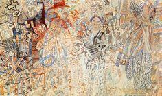 "russian-avantgarde-art:  ""Colonial Policy, 1926, Pavel Filonov  """