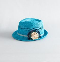 Color Cane Weave Fedora