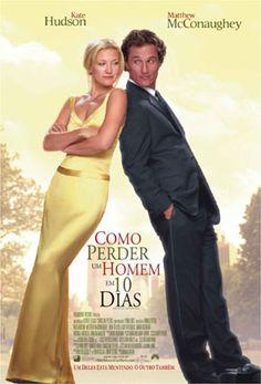 Um filme de Donald Petrie com Kate Hudson, Matthew McConaughey : Ben Barry (Matthew McConaughey) é um publicitário que faz uma grande aposta com seu chefe: caso faça com que uma mulher se apaixone por ele em 10 dias ele será o responsável por uma concorrida campanha de diamantes que pertence à empresa. A vítima es...