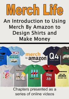 There is yet another way to make money by Amazon! You will want to take a look at Merch by Amazon!