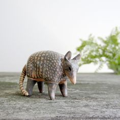armadillo totem from etsy: HandyMaiden  her animals are darling!
