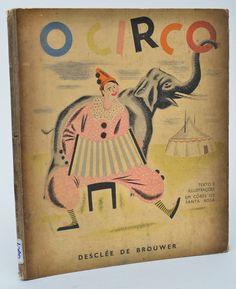 """LIVRO - """"O CIRCO"""" - SANTA ROSA, TOMAS, autograf.."""
