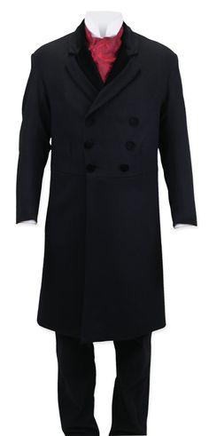 Gentleman's Emporium / Double Breasted Prince Albert Wool Frock [004203]