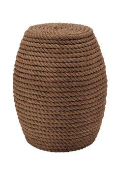 Wood Rope Stool
