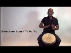 Exercise How to play the djembe lesson - african drum and rhythm training Music Class, Music Education, Drums For Kids, African Drum, Didgeridoo, Hand Drum, Primary Music, Elementary Music, Percussion