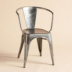 First manufactured in the mid-20th century, these varnished steel chairs were designed to withstand the wear-and-tear of bistro, bar and brasserie patrons while remaining ever-recherché. So we have no doubt they will weather many a holiday and household event with typical panache. Still handcrafted—with more than 100 steps to the process—in the Burgundy atelier where they originated. Comfortable and dramatic indoors