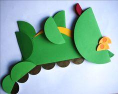 Bajkowe postacie origami - Smok Wawelski