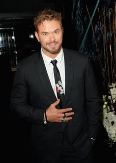 Pin for Later: Can't-Miss Celebrity Pics!  Kellan Lutz partied it up in London after the Monday night premiere of The Expendables 3.