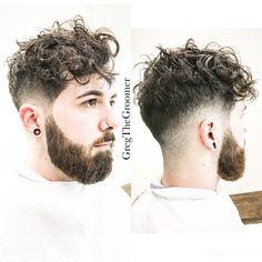 http://www.gregcooperspencer.com/  #hair #men #women #GregTheGroomer #style #curlyhair #haircut #beard #edgybeard #blend #nyc #passion #practice #newhair