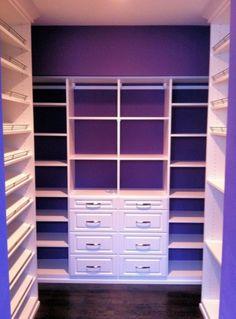 Want this for our master!!  Master Closet Design Ideas - California Closets DFW