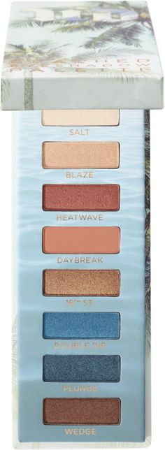 Urban Decay Beached Eyeshadow Palette Has All The Bronze and Aqua Shades for Your Eyes This Summer! – Musings of a Muse