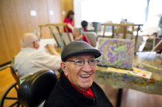 In 2012, a stroke left Vincent Cass partly paralyzed. Soon after, the 77-year-old took a painting class and discovered a talent he never realized he had.