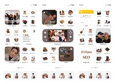 Phone Themes, Ios Phone, Ios Design, Homescreen Wallpaper, Phone Organization, Image Sharing, Layout, Find Image, Nct