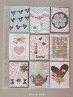 Pocket Letter romantique - Etoile du Nord