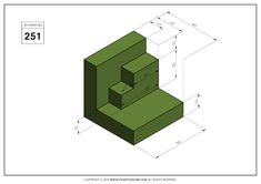 Orthographic Drawing, Cad Cam, Cad Drawing, Drawing Practice, Technical Drawing, 3d Modeling, Autocad, My Drawings, Geometry