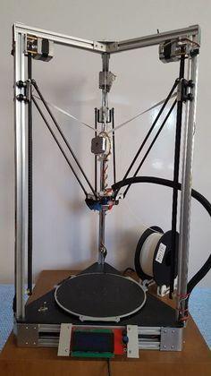 Delta Bot: Perfect DIY 3D Printer