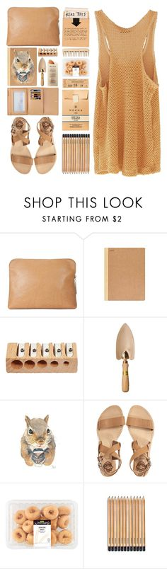 """Squirrel.You are a little squirrel."" by nobodyspecial-218 ❤ liked on Polyvore featuring 3.1 Phillip Lim, Martha Stewart, Sol Sana, Louis Vuitton and The Body Shop"