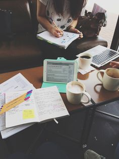 mylittle-studyblr:  we tried to revise in Starbucks myrevisiondiary iii-xii