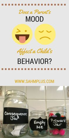 Does a parent's mood affect a child's behavior? What I learned from the consequence and reward jars