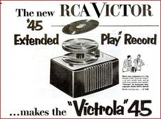 RCA Victor introduced the 45 RPM record on January 10, 1949.