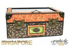 Nature Sketchbook Box&Notebook&ATC, Tutorial by Alexandra Morein, Product by Graphic 45, Photo 2