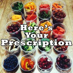 Here's YOUR prescription ~ Mark Hyman, MD    Do YOU eat MORE from God's Garden of Eden? Are YOU trying... pinned with Pinvolve