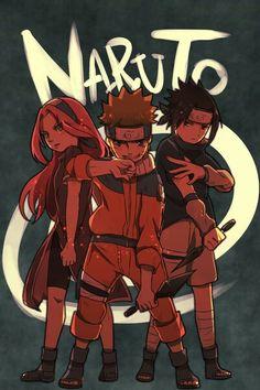 Team 7, Naruto art