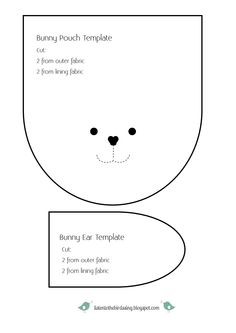 Bunny Pouch Template listentothebirdssing.pdf - Google Drive