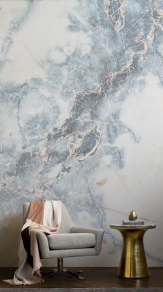 Deep blue marble wall sticker with shades Murals wallpaper – Wanderlust Luxury Wallpaper, Room Wallpaper, Designer Wallpaper, Wallpaper Murals, Wallpaper Ideas, Wallpaper Wallpapers, Beautiful Wallpaper, Tapete Gold, Traditional Interior
