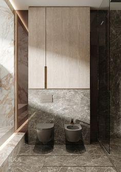 Dark ceramic to create a modern bathroom. - Dark ceramic to create a modern bathroom. ____________ Dark ceramics to create - Bathroom Layout, Modern Bathroom Design, Contemporary Bathrooms, Bathroom Interior Design, Small Bathroom, Bathroom Ideas, Bathroom Organization, Master Bathrooms, Minimal Bathroom