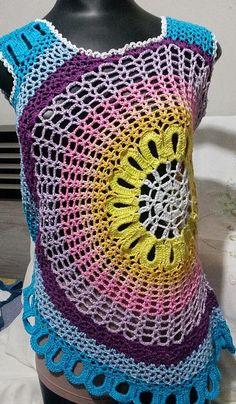 Blusa colorida