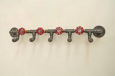 Industrial design wardrobe rack steel pipe
