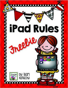 iPad Rules for the Primary Classroom
