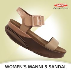 Flaunt your impeccable sense of style and elevate your ensemble with the classic pair of Manni 5 Sandals. Patent and calf leather straps finished with a microfiber footbed,, our signature patented rocker sole and non-marking outsole. Available in Black and Nougat Coco Brown. Calf Leather, Footwear, Pairs, Flats, Brown, Classic, Fashion, Loafers & Slip Ons, Derby