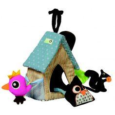 Silly U Owl Activity house