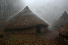 Celtic open air village near Cardiff.