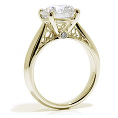 1.02ct Brilliant Round Natural Diamond Rings Trilogy Gold 14k