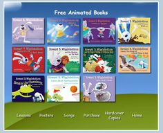 Picture Book Linky Party: Character Education Books- Online Animated Versions of Howard B. Wigglebottom books :)