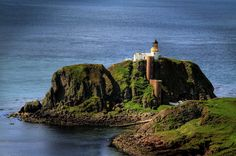 SANDA Light, Isle of Sanda. Scotland