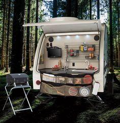 "r-pod West Coast Travel Trailers by Forest River RV ""Rear Garage"""