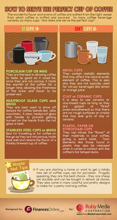 Coffee 101: How to serve the perfect cup of coffee - Yahoo! She Philippines